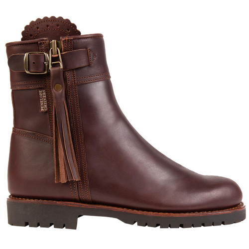Conker Penelope Chilvers Womens Cropped Lined Tassel Boot