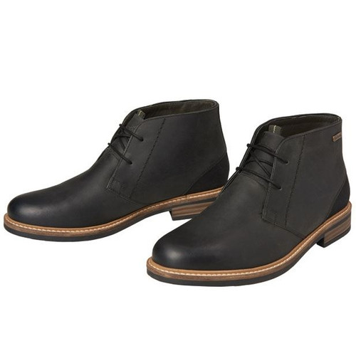 Black Barbour Mens Readhead Boots