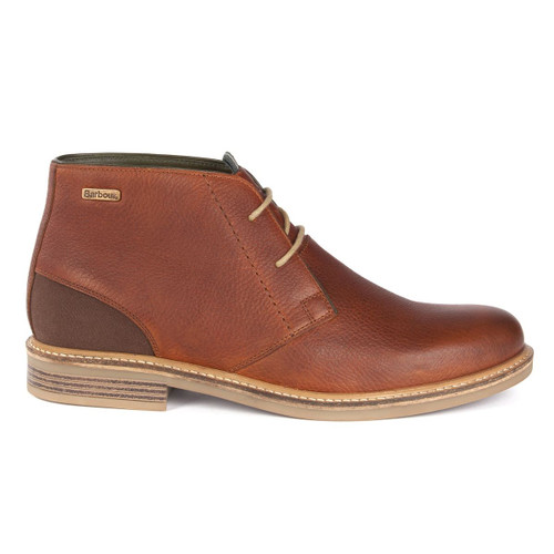 Tan Texas Barbour Mens Readhead Boots