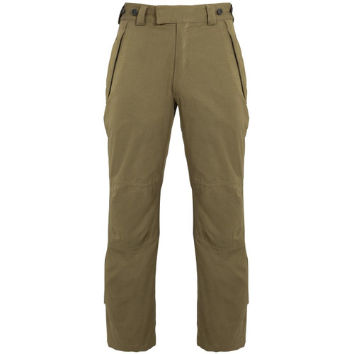 Olive Alan Paine Mens Dunswell Waterproof Trousers