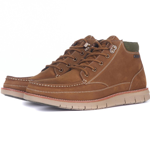 Brown Barbour Mens Victory Boots