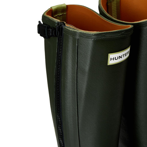 Hunter Womens Balmoral Leather Lined Full Zip Boots