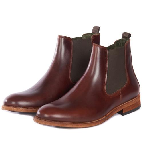 Mahogany Barbour Mens Bedlington Boots