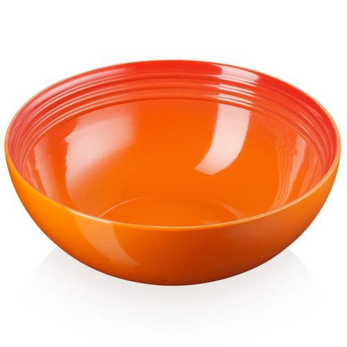 Volcanic Le Creuset Stoneware Medium Serving Bowl