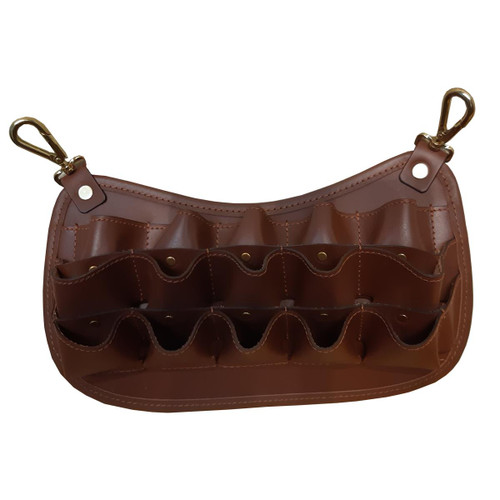 London Tan Croots Loaders Clip On Pouch 12G