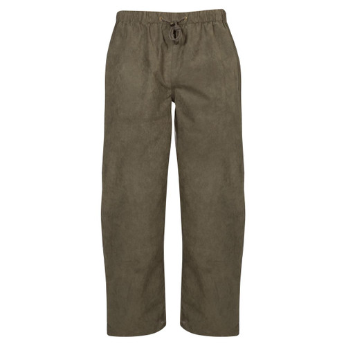 Olive Alan Paine Mens Cambridge Waterproof Trousers
