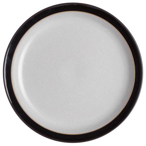 Denby Elements Black Dinner Plate