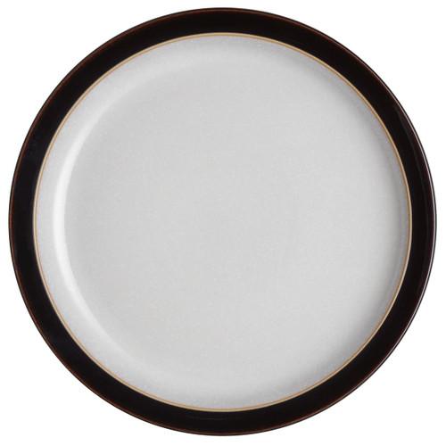 Denby Elements Black Medium Plate
