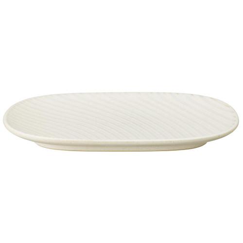 Denby Impression Cream Accent Medium Oblong Platter