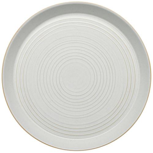 Denby Impression Cream Spiral Dinner Plate