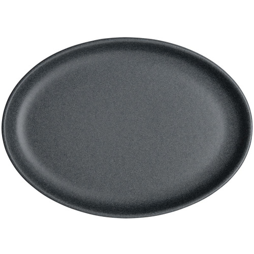 Denby Impression Charcoal Small Oval Tray
