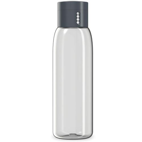 Grey Joseph Joseph Dot Hydration-tracking 600ml Water Bottle