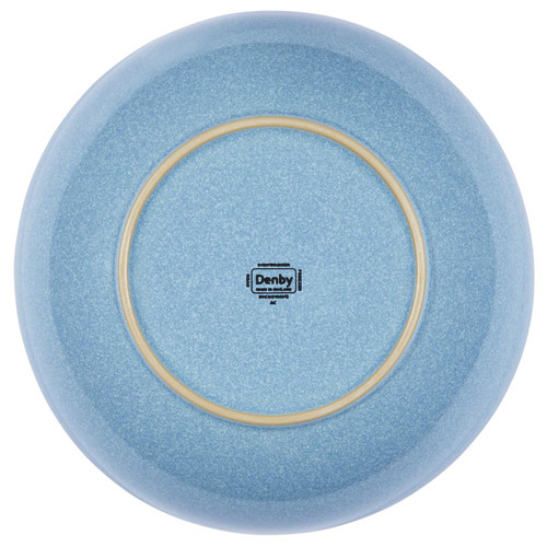 Denby Elements Light Blue Serving Bowl