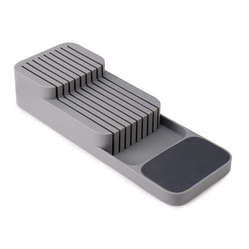 Grey/Grey Joseph Joseph DrawerStore Compact 2-tier Knife Organiser