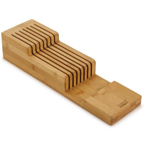 Bamboo Joseph Joseph DrawerStore Bamboo 2-tier Knife Organiser