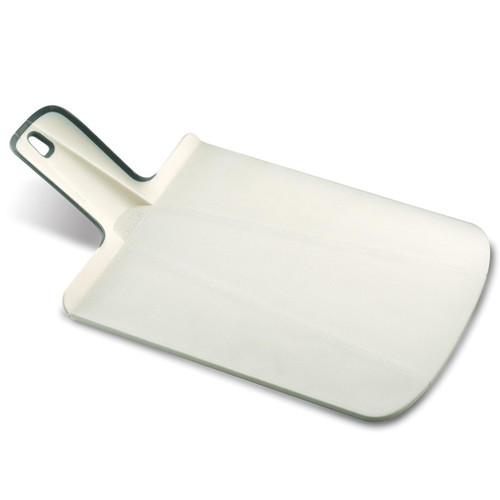 White Joseph Joseph Small Chop2Pot Plus Folding Chopping Board