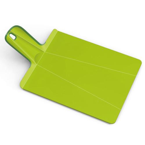 Green Joseph Joseph Small Chop2Pot Plus Folding Chopping Board