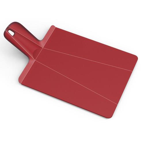 Red Joseph Joseph Small Chop2Pot Plus Folding Chopping Board