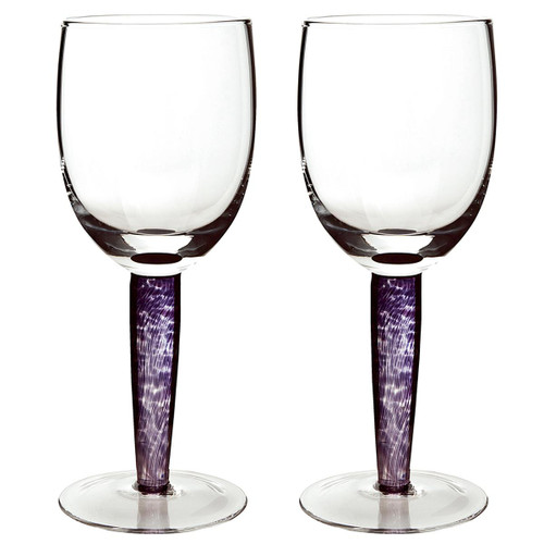 Denby Amethyst Red Wine Glass Pack Of 2