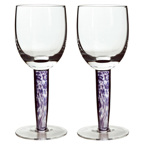 Denby Amethyst White Wine Glass Pack Of 2
