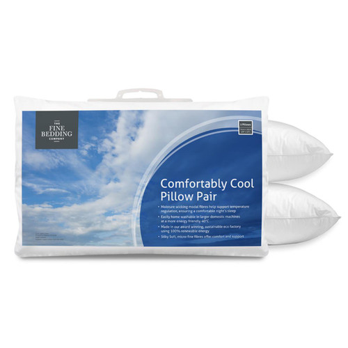 The Fine Bedding Company Comfortably Cool Pillow Pair