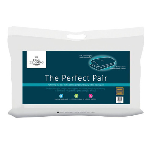 The Fine Bedding Company The Perfect Pair Pillow