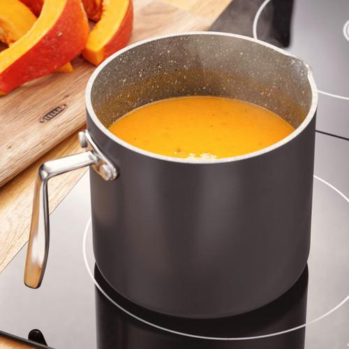 Stellar Rocktanium Non-Stick Milk/Sauce Pot Lifestyle