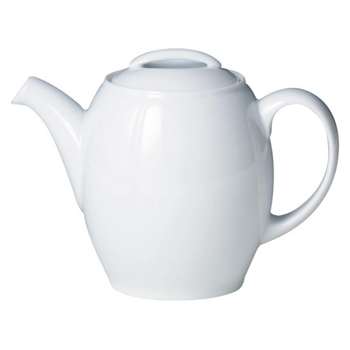 Denby White By Denby Teapot
