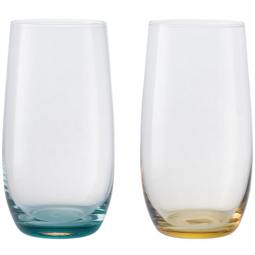 Denby Colours Large Tumblers (Green/Yellow) Set Of 2
