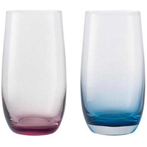 Denby Colours Large Tumblers (Pink/Blue) Set Of 2