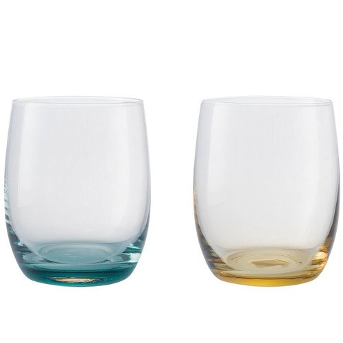 Denby Colours Small Tumblers (Green/Yellow) Set Of 2