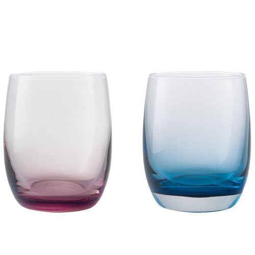 Denby Colours Small Tumblers (Pink/Blue) Set Of 2