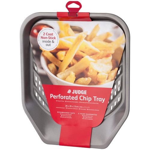 Judge Bakeware Non-Stick Perforated Chip Tray
