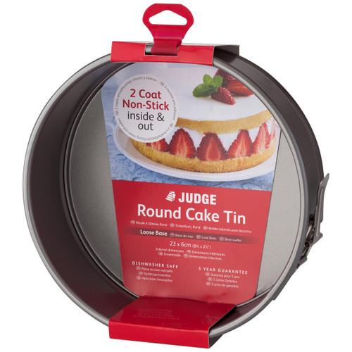 Judge Bakeware Non-Stick Springform Round Cake Tin