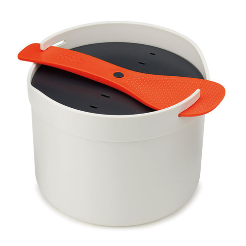 Stone/Orange Joseph Joseph M-Cuisine microwave rice cooker