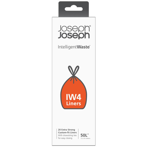 Joseph Joseph IW4 20 Custom-fit Compaction Liners