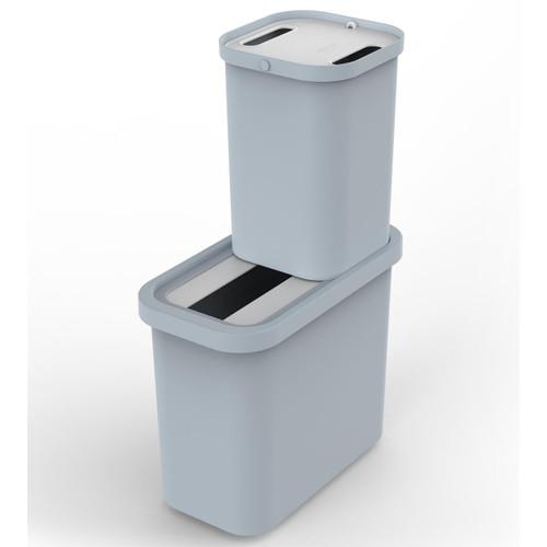 Blue Joseph Joseph GoRecycle 46L Recycling Collector & Caddy Set