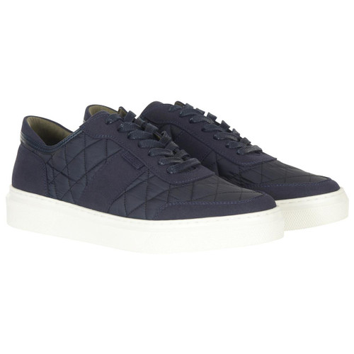 Navy Barbour Mens Liddesdale Shoes