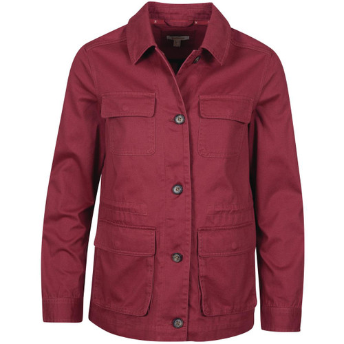 Mulbetry Barbour Womens Saltwater Overshirt