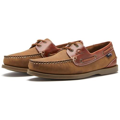 Walnut/Seahorse Chatham Mens Bermuda II G2 Boat Shoes