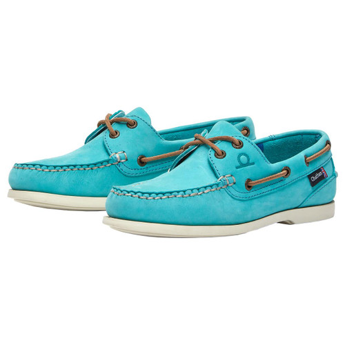 Turquoise Chatham Womens Pippa II G2 Deck Shoes