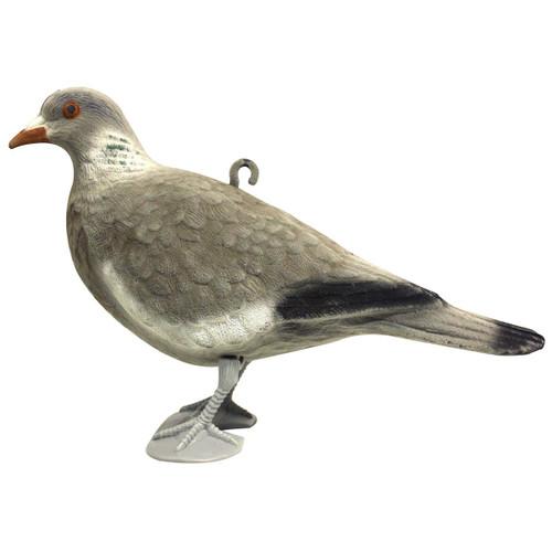 Bisley Flocked Pigeon Decoy With Legs