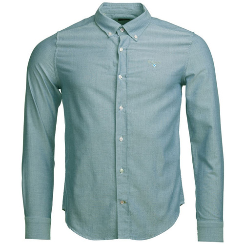 Green Barbour Mens Oxford 3 Tailored Shirt