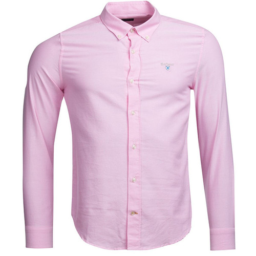 Pink Barbour Mens Oxford 3 Tailored Shirt