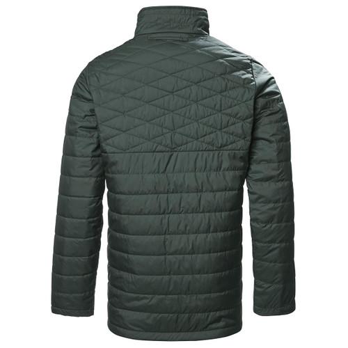 Scarab Green Musto Mens Edinburgh Primaloft Quilted Jacket Back
