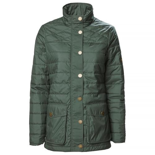 Scarab Green Musto Womens Edinburgh Primaloft Quilted Jacket