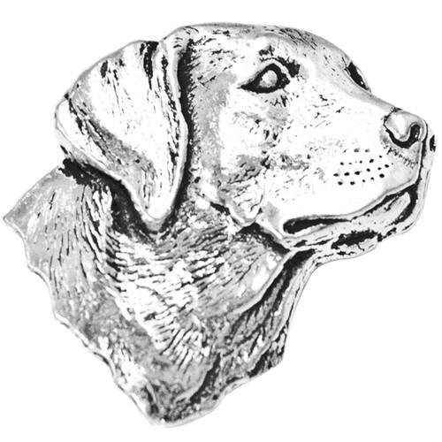 Labrador Pewter Pin In Presentation Box