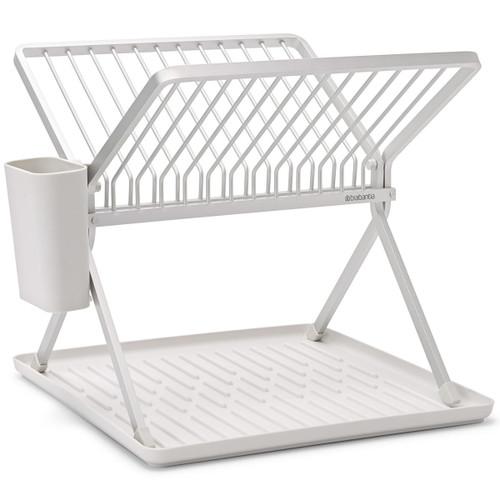 Light Grey Brabantia Foldable Dish Drying Rack