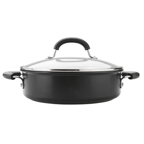 Black Circulon Excellence 26cm/2.8L Covered Sauteuse