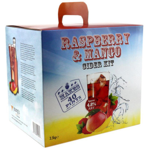 Youngs Raspberry & Mango Cider - 40 pint / 23L